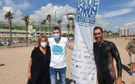 Swimming the Catalan coast to raise funds for TRICALS