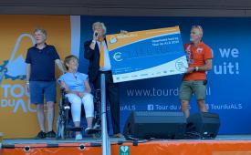 Recordbedrag opgehaald tijdens 9e editie Tour du ALS